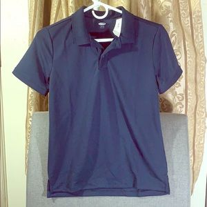 NWT- Old Navy - Navy Polo - Size L - Juniors 10/12